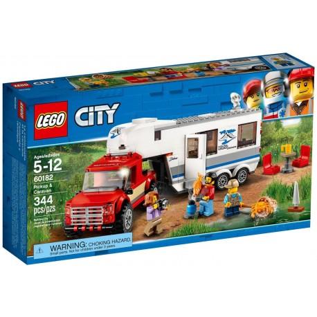 LEGO CITY Pickup z przyczepą 60182