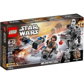 LEGO STAR WARS Ski Speeder kontra maszyna krocząca 75195