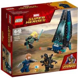 LEGO SUPER HEROES Atak statku Outriderów 76101