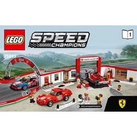 LEGO SPEED CHAMPIONS Warsztat Ferrari 75889