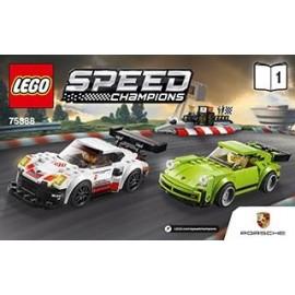 LEGO SPEED CHAMPIONS Porsche 911RSR i 911T 75888