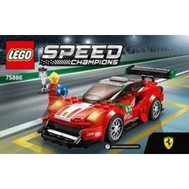 LEGO SPEED CHAMPIONS Ferrari 488 GT3 Scuderia 7588