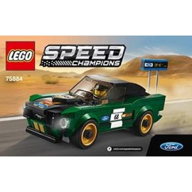 LEGO SPEED CHAMPIONS Ford Mustang 1968r 75884