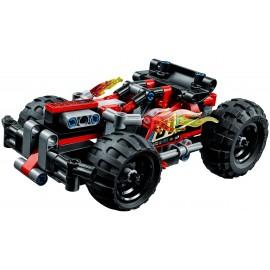 LEGO TECHNIC Czerwona wyścigówka 42073
